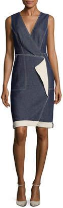 Tracy Reese Wrap Sheath Dress