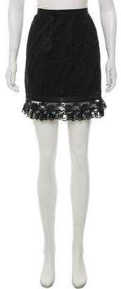 What Goes Around Comes Around Lace Mini Skirt