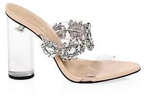 Schutz Women's Blanck Transparent Sandals