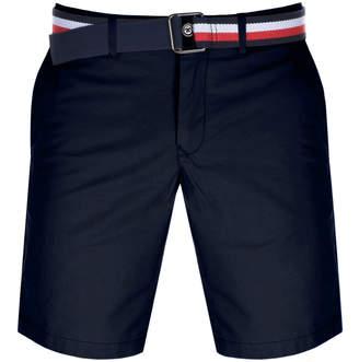 Tommy Hilfiger Brooklyn Twill Belt Shorts Navy