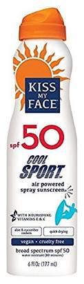 Kiss My Face Cool Sport Spray Sunscreen