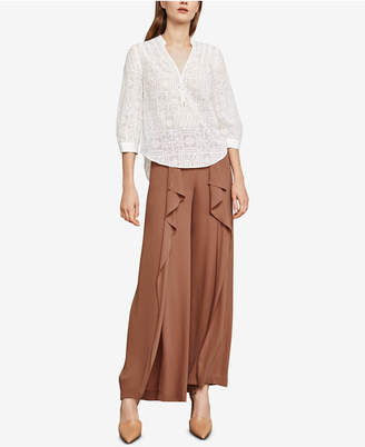 BCBGMAXAZRIA Calie Embroidered Top