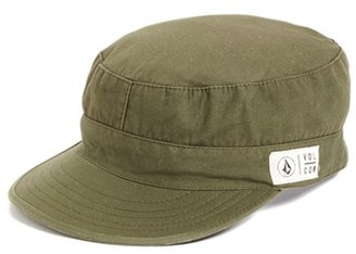 Women's Volcom 'Krust' Military Hat - Green $29.50 thestylecure.com