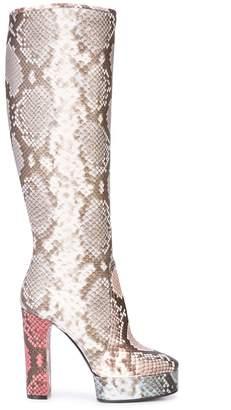 Casadei knee high boots