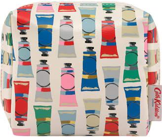 Cath Kidston Paint Tubes Square Make Up Bag