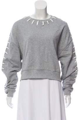 Jonathan Simkhai Cropped Sweatshirt w/ Tags
