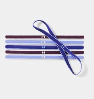 Under Armour Women's UA Mini Headbands - 6 Pack