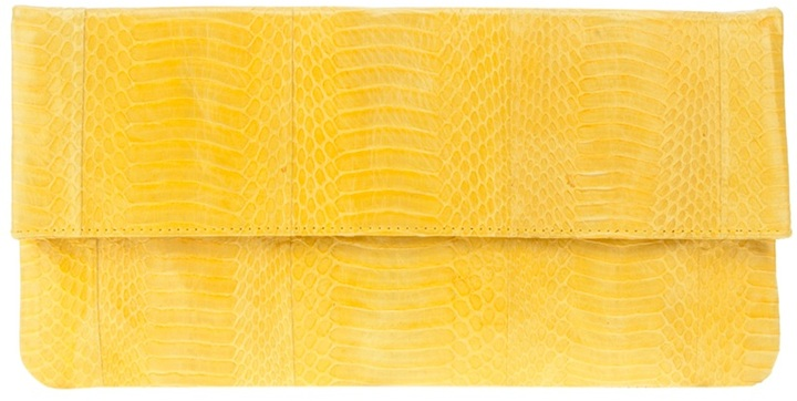 Angel Jackson Snake skin clutch