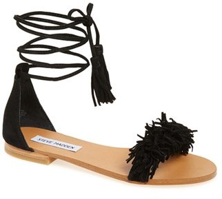 Steve Madden 'Sweetyy' Lace-Up Sandal (Women) $79.95 thestylecure.com
