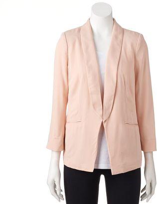 Women's LC Lauren Conrad Shawl Collar Blazer $64 thestylecure.com