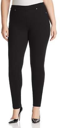 Marina Rinaldi Ocularae Skinny Jersey Jeans in Black