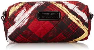 Marc by Marc Jacobs Crosby Quilt Nylon Printed Narrow Cosmetic Bag