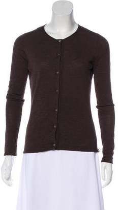 TSE Wool Button-Up Cardigan
