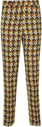 Rochas Sixties Printed Trousers
