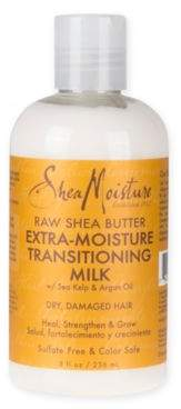 SheaMoisture Raw Shea Butter 8 oz. Extra-Moisture Transitioning Milk $10.49 thestylecure.com