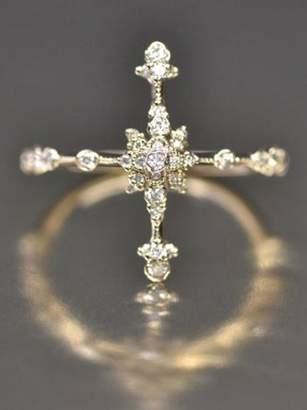 Kataoka Japanese Diamond Orchid Ring