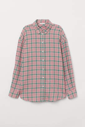 H&M Flannel Shirt - Pink