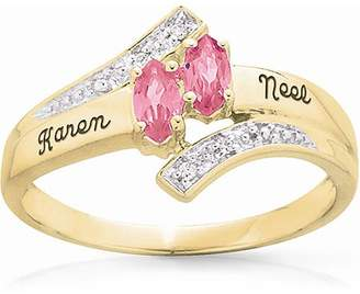 Keepsake Delight Marquise Ring 10k Simulated