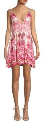 Free People Me To You Graphic A-Line Dress