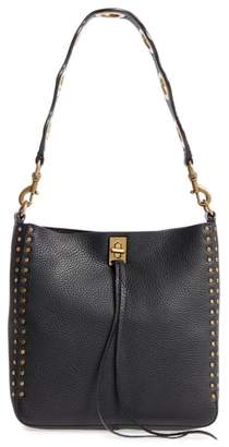 Rebecca Minkoff Small Darren Deerskin Leather Feed Bag