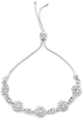 Givenchy Pavé Flower Station Slider Bracelet
