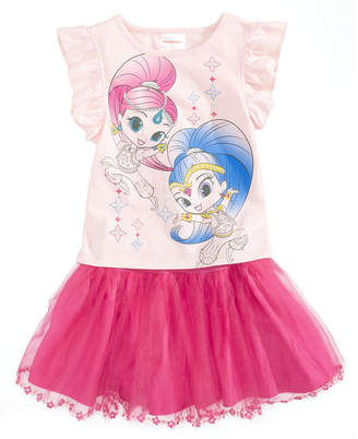 Nickelodeon 2-Pc. Shimmer and Shine T-Shirt & Scooter Skirt Set, Little Girls