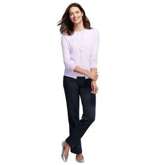 Lands' End - Blue Petite Sport Knit Trousers