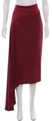 Hellessy Satin Crepe Maxi Skirt w/ Tags