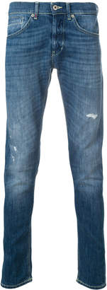 Dondup Cotton George Jeans With Straps