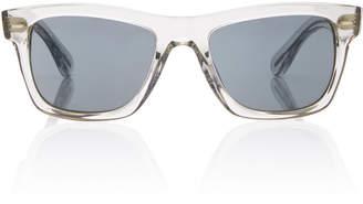 Oliver Peoples Oliver Sun Square-Frame Acetate Sunglasses