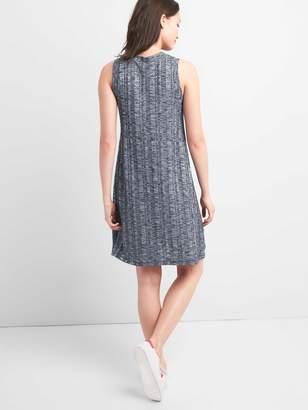 Gap Ribbed Softspun Sleeveless Panel Dress