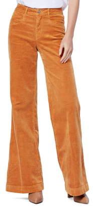 Paige Sutton Wide Leg Corduroy Pants