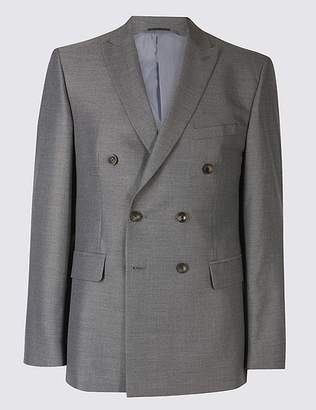 Marks and Spencer Grey Tailored Fit Jacket
