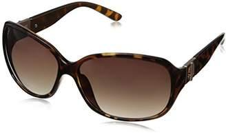 Adrienne Vittadini Women's AV1009-200 Buckle Hinge Square Sunglasses