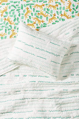 Anthropologie Zig-Zag Kids Sham