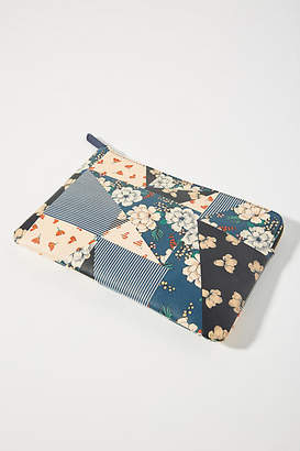 Anthropologie Floral Patchwork Printed Clutch