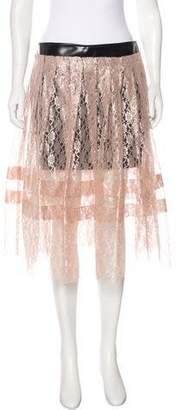 Philosophy di Lorenzo Serafini Lace Midi Skirt w/ Tags