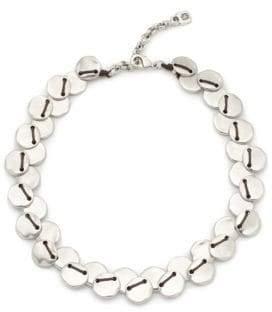 Uno de 50 Flat Beaded Collar Necklace
