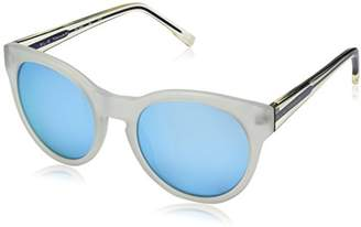 Elie Tahari Women's EL 165 BL Round Sunglasses