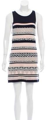 Chanel Striped Cashmere Dress