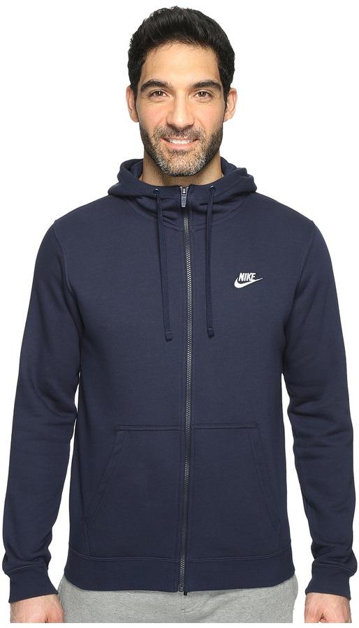 Nike - Club Fleece Full-Zip Hoodie Men's Fleece