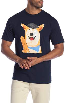 Altru French Dog Crew Neck Tee