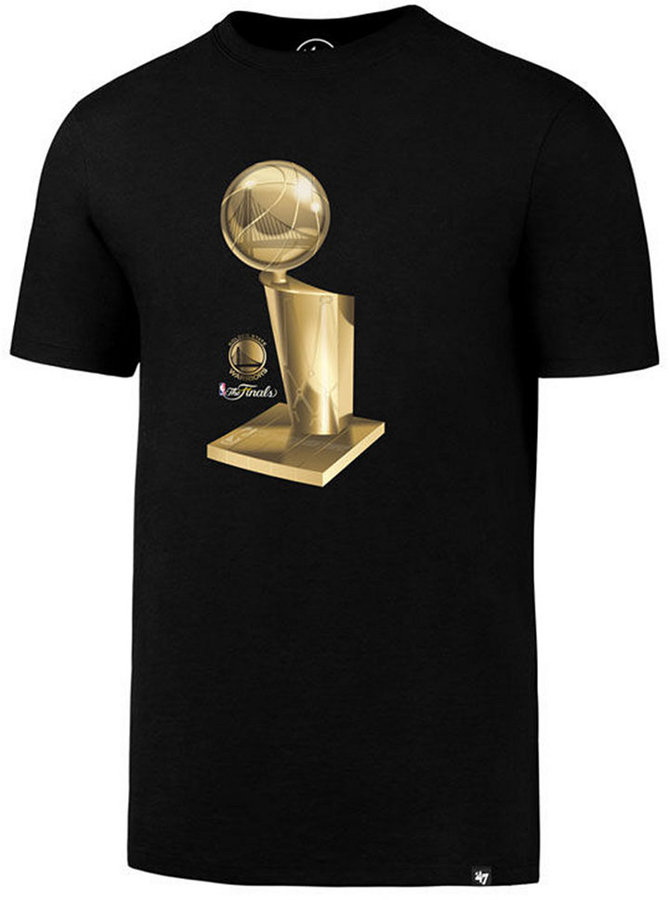 '47 Brand Men's Golden State Warriors Champions Trophy Reflection T-Shirt