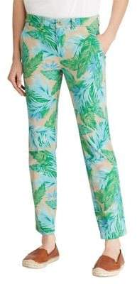 Lauren Ralph Lauren Printed Chino Pants