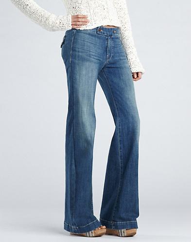 Lucky Brand Farrah High-Rise Trousers