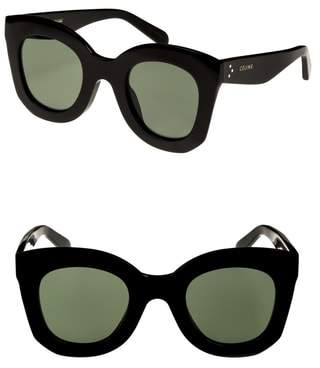 Celine Special Fit 49mm Cat Eye Sunglasses