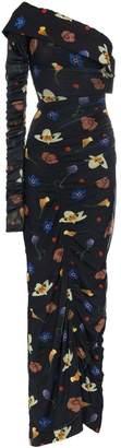 SOLACE London Jovan floral-print gown