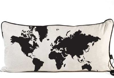 Pillow World Map