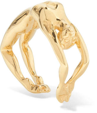 Paola Vilas - Louise Gold-plated Ring