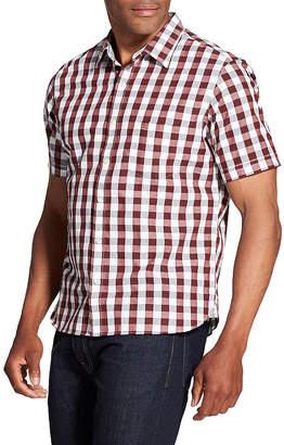 Van Heusen Never Tuck Short-Sleeve Button-Down Shirt
